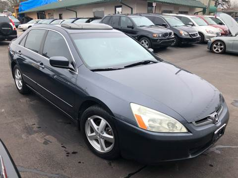 2003 Honda Accord for sale at A & H Auto Sales in Greenville SC