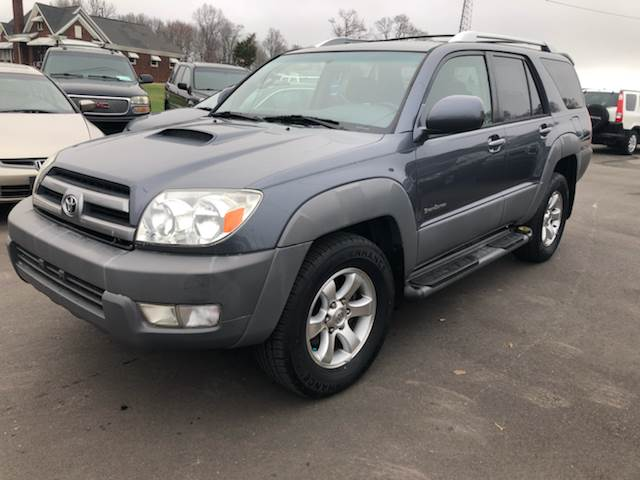 2003 Toyota 4Runner for sale at A & H Auto Sales in Greenville SC