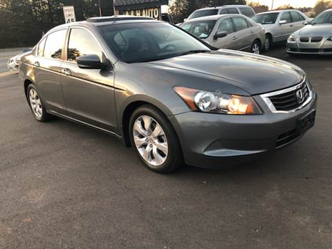 2009 Honda Accord for sale at A & H Auto Sales in Greenville SC