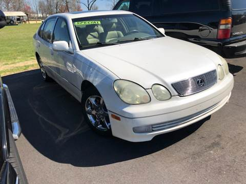 2003 Lexus GS 300 for sale at A & H Auto Sales in Greenville SC