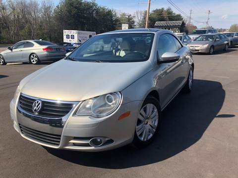 2009 Volkswagen Eos for sale at A & H Auto Sales in Greenville SC