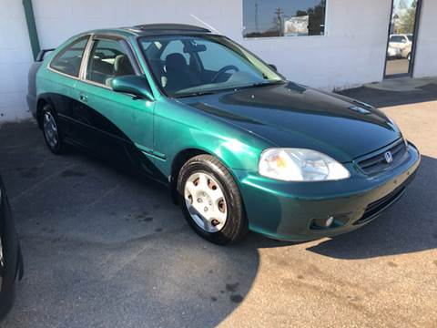2000 Honda Civic for sale at A & H Auto Sales in Greenville SC