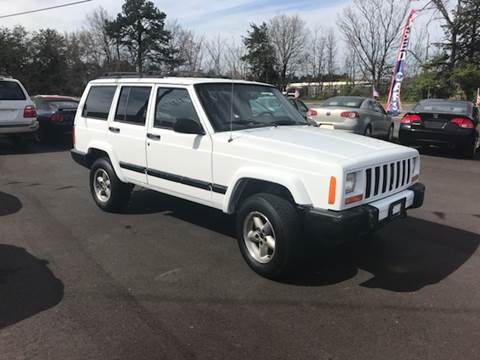 2001 Jeep Cherokee for sale at A & H Auto Sales in Greenville SC