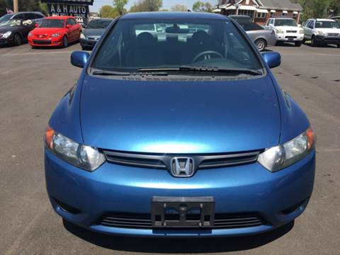 2007 Honda Civic for sale at A & H Auto Sales in Greenville SC