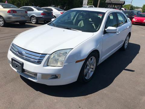 2008 Ford Fusion for sale at A & H Auto Sales in Greenville SC