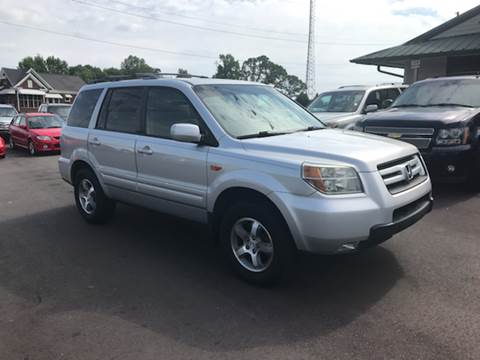 2007 Honda Pilot for sale at A & H Auto Sales in Greenville SC