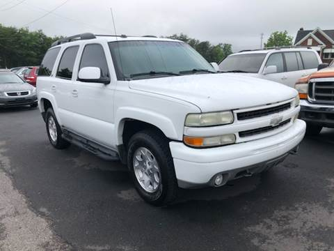 2004 Chevrolet Tahoe for sale at A & H Auto Sales in Greenville SC
