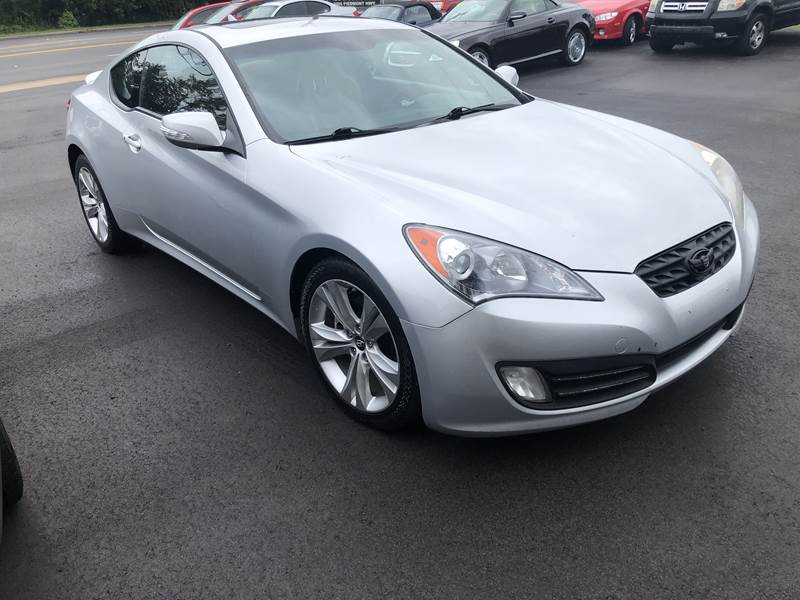 2010 Hyundai Genesis Coupe for sale at A & H Auto Sales in Greenville SC