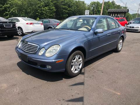 2006 Mercedes-Benz E-Class for sale at A & H Auto Sales in Greenville SC