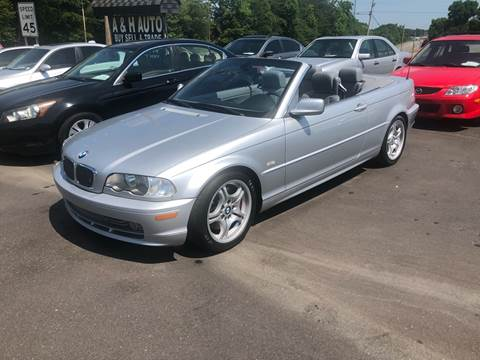 2001 BMW 3 Series for sale at A & H Auto Sales in Greenville SC
