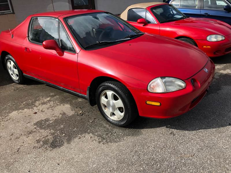 1993 Honda Civic Del Sol Si 2dr Coupe In Greenville Sc A H Auto