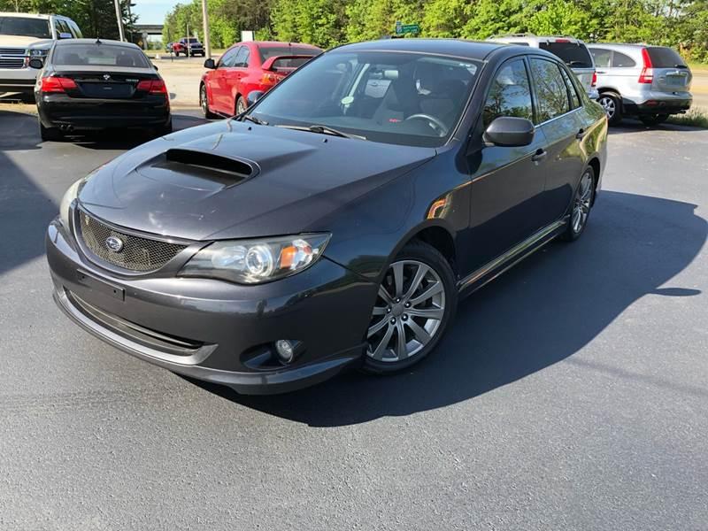 2010 Subaru Impreza Awd Wrx 4dr Sedan In Greenville Sc A H Auto