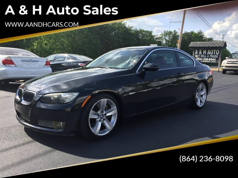 2008 Bmw 3 Series 335i 2dr Coupe In Greenville SC - A & H