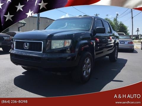 2007 Honda Ridgeline for sale in Greenville, SC