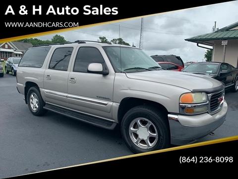 2004 GMC Yukon XL for sale in Greenville, SC