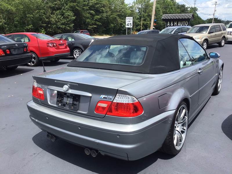 2004 Bmw M3 2dr Convertible In Greenville SC - A & H Auto Sales