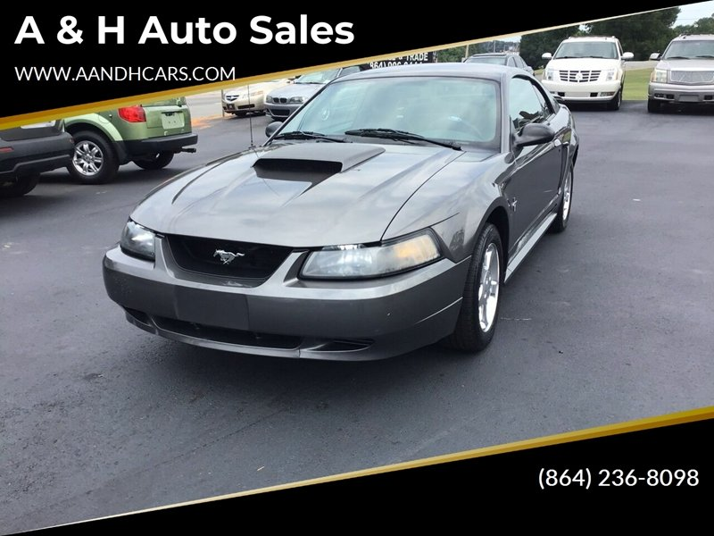 2003 Ford Mustang Premium 2dr Fastback In Greenville SC - A
