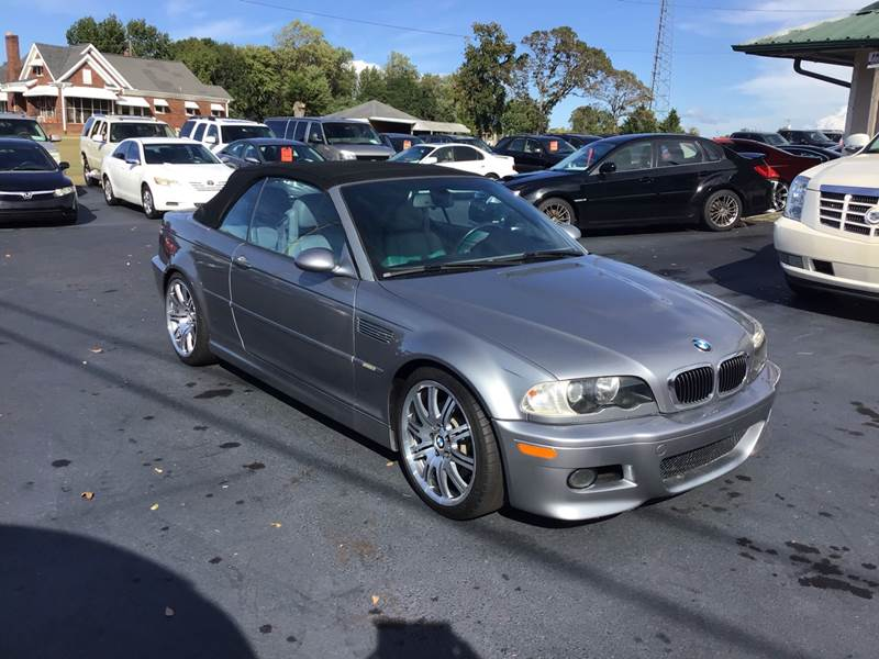 Bmw Greenville Sc >> 2004 Bmw M3 2dr Convertible In Greenville Sc A H Auto Sales