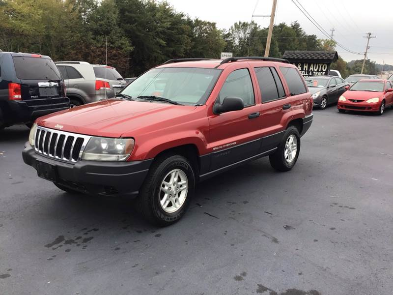 2003 jeep grand cherokee laredo 4dr suv in greenville sc a h auto sales 2003 jeep grand cherokee laredo 4dr suv