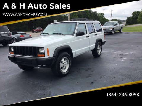 Jeep Used Cars Pickup Trucks For Sale Greenville A H Auto Sales