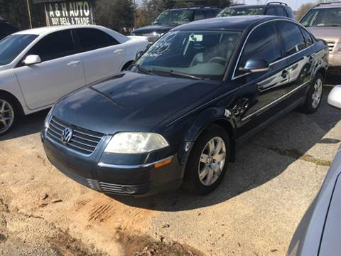 2005 Volkswagen Passat for sale at A & H Auto Sales in Greenville SC