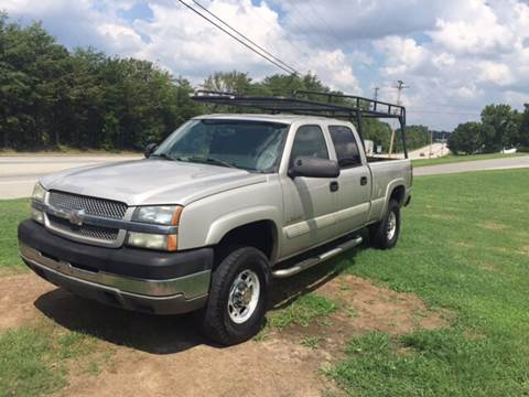 2004 Chevrolet Silverado 2500HD for sale at A & H Auto Sales in Greenville SC