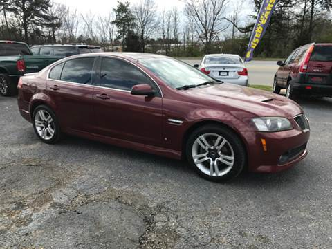 2009 Pontiac G8 for sale at A & H Auto Sales in Greenville SC