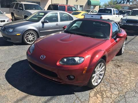 2006 Mazda MX-5 Miata for sale at A & H Auto Sales in Greenville SC