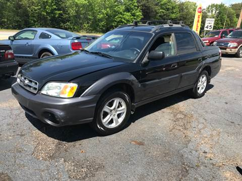 2005 Subaru Baja for sale at A & H Auto Sales in Greenville SC