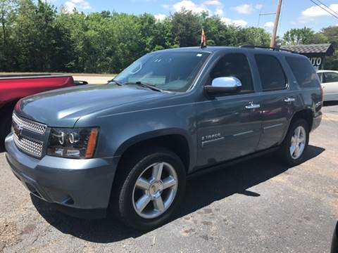 2008 Chevrolet Tahoe for sale at A & H Auto Sales in Greenville SC