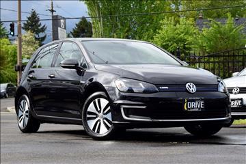 2015 Volkswagen e-Golf for sale in Portland, OR