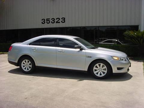 2010 Ford Taurus for sale in Pinehurst TX