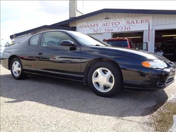 2000 Chevrolet Monte Carlo for sale in Mankato, MN