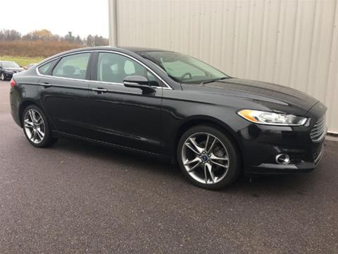 2014 Ford Fusion for sale in Baraboo WI
