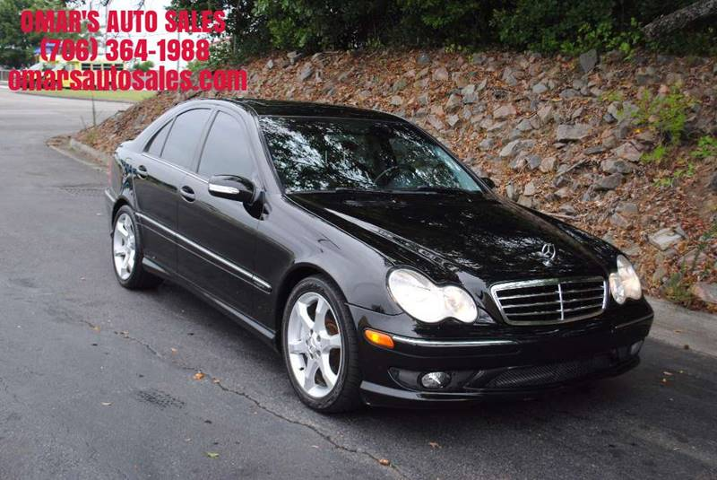 2007 MERCEDES-BENZ C-CLASS C 230 SPORT 4DR SEDAN black grille color - chrome rear spoiler air f