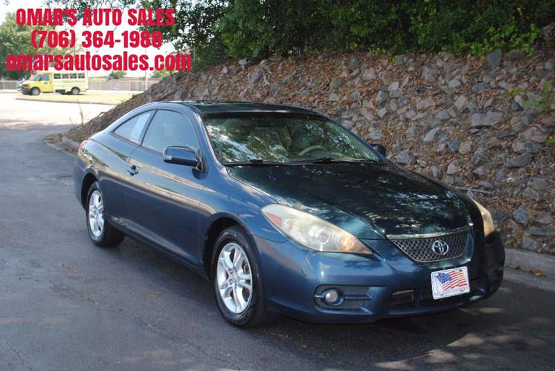 2007 TOYOTA CAMRY SOLARA SE 2DR COUPE 24L I4 5A blue great condition inside and outside power