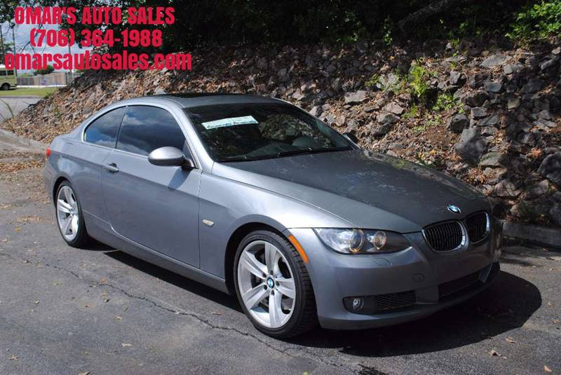 2008 BMW 3 SERIES 335I 2DR COUPE gray exhaust - dual tip exhaust tip color - chrome grille colo