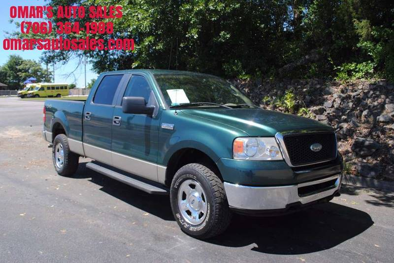 2008 FORD F-150 XLT 4X4 4DR SUPERCREW STYLESIDE green no accidents 4x4 spray in bedliner like
