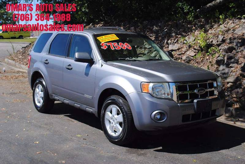 2008 FORD ESCAPE XLT 4DR SUV I4 silver no accidents low mileage great on gas wonderful veh