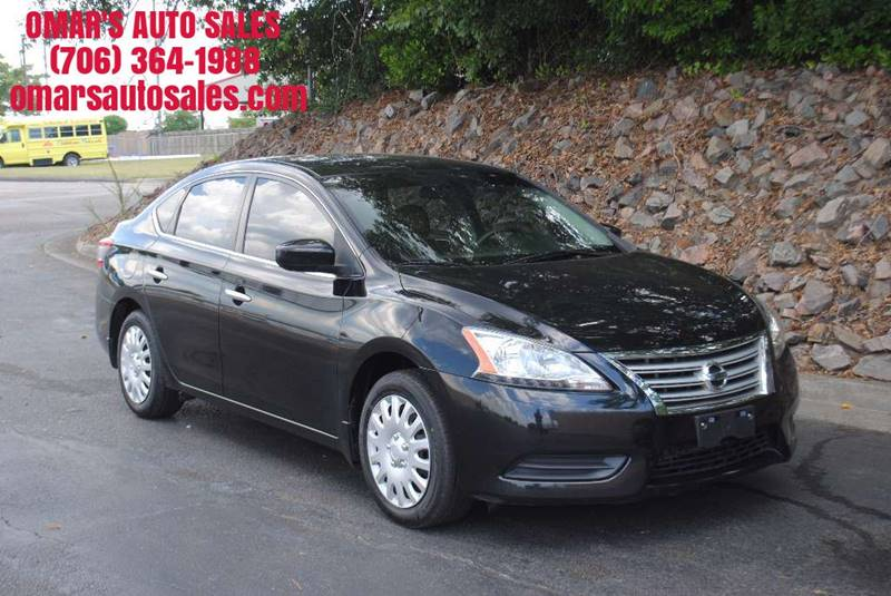 2013 NISSAN SENTRA S 4DR SEDAN CVT black no accidents eco pure drive great on gas clean car