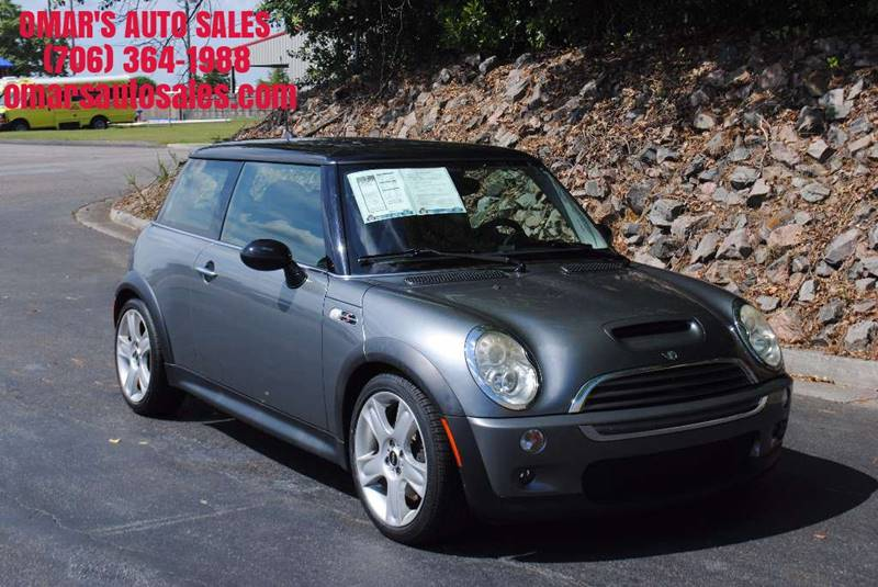 2005 MINI COOPER S 2DR SUPERCHARGED HATCHBACK gray rear spoiler front air conditioning front ai