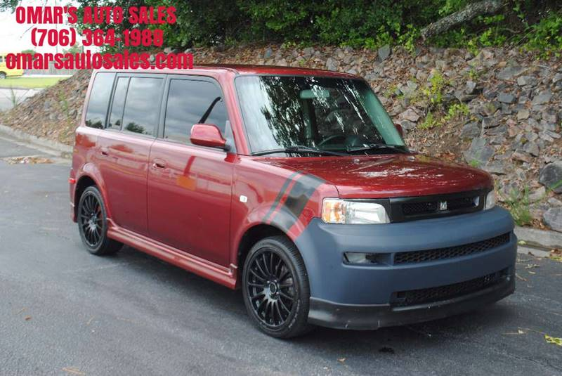 2006 SCION XB BASE 4DR WAGON WAUTOMATIC maroon clean suv with power windows  locks aftermarket