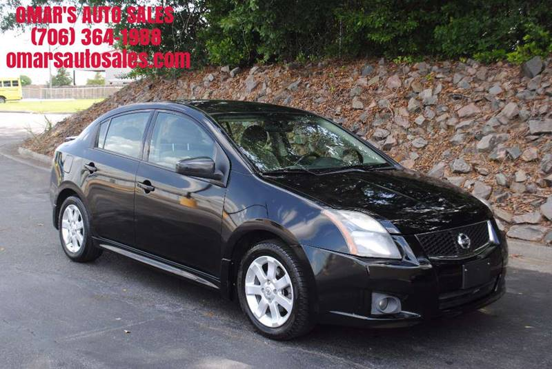 2010 NISSAN SENTRA 20 SR 4DR SEDAN black great gas saver cold ac power windows  locks key