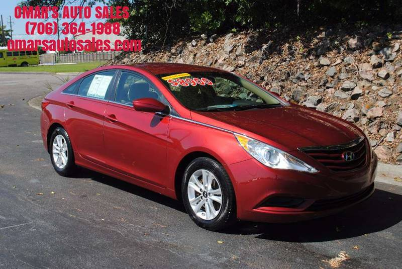 2013 HYUNDAI SONATA GLS 4DR SEDAN red no accidents great gas saver blue tooth power windows