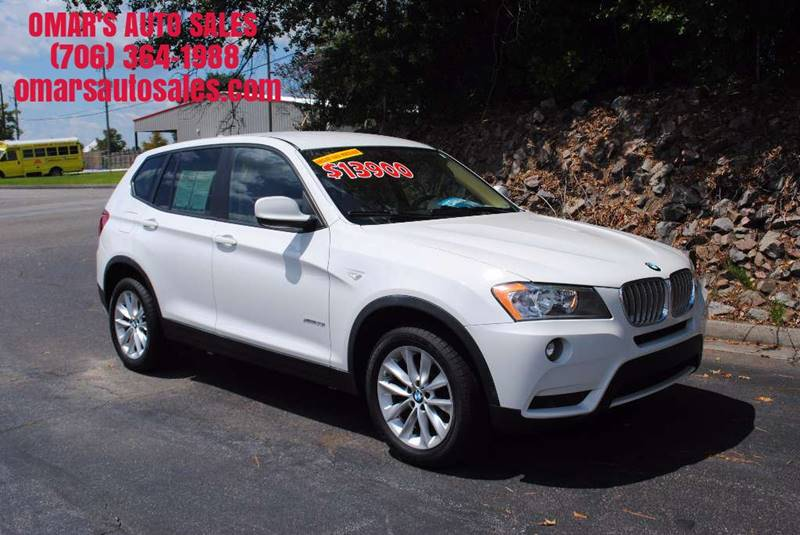 2012 BMW X3 XDRIVE28I AWD 4DR SUV white exhaust - dual tip door handle color - body-color exhau