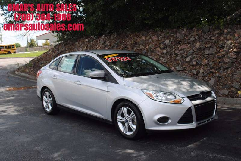 2014 FORD FOCUS SE 4DR SEDAN silver 1 owner vehicle with no accidents very clean and great on