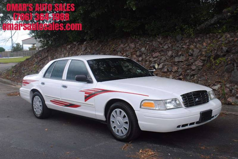 2010 FORD CROWN VICTORIA POLICE INTERCEPTOR 4DR SEDAN 3 white 1 owner leather power seats