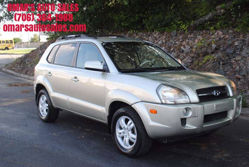 2008 HYUNDAI TUCSON SE 4DR SUV champagne 1 owner with no accidents heated leather seats very