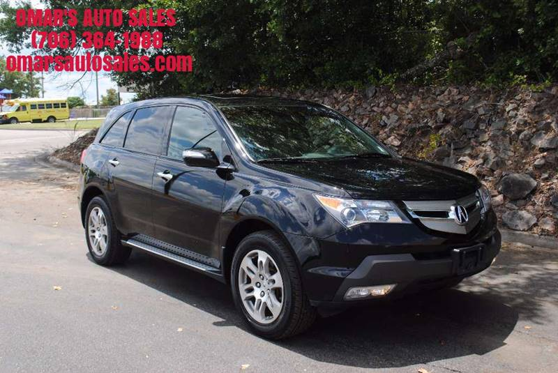 2009 ACURA MDX SH AWD 4DR SUV black low miles no accidents very clean with heated memory