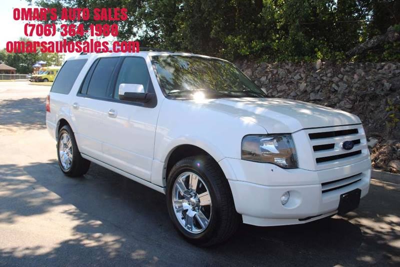 2010 FORD EXPEDITION LIMITED 4X2 4DR SUV white 1-owner  with no accidents fully loaded with he